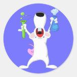 Test Tube Lab Rat Sticker