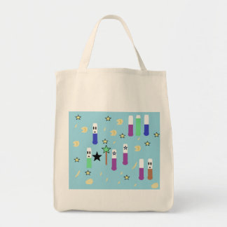Test Tube Magic Grocery Tote Bag