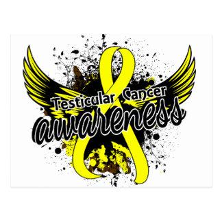 Testicular Cancer Awareness 16 Postcard