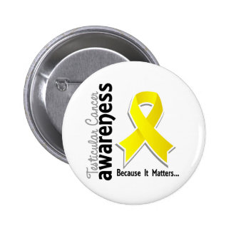 Testicular Cancer Awareness 5 6 Cm Round Badge