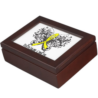 Testicular Cancer Awareness Butterfly Memory Boxes