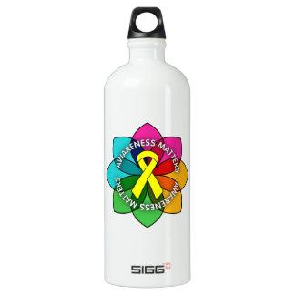 Testicular Cancer Awareness Matters Petals SIGG Traveller 1.0L Water Bottle