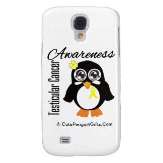 Testicular Cancer Awareness Penguin Galaxy S4 Case