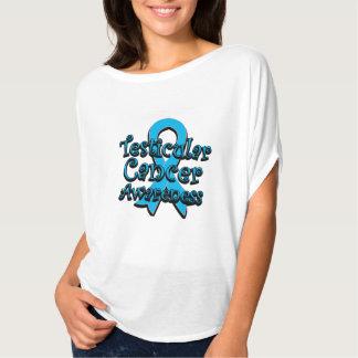 Testicular Cancer Awareness Ribbon Tshirt