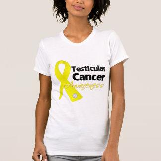 Testicular Cancer Awareness Ribbon T Shirt