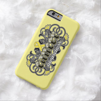 Testicular Cancer Awareness Tattoo Barely There iPhone 6 Case