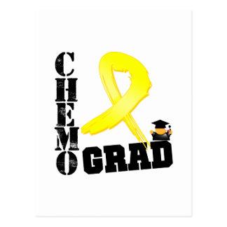 Testicular Cancer Chemo Grad Postcards