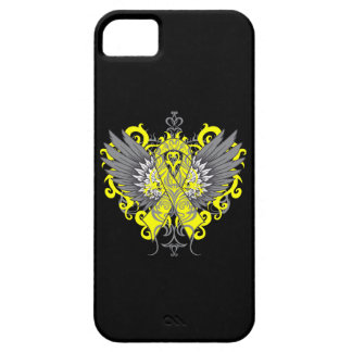 Testicular Cancer Cool Wings iPhone 5 Covers