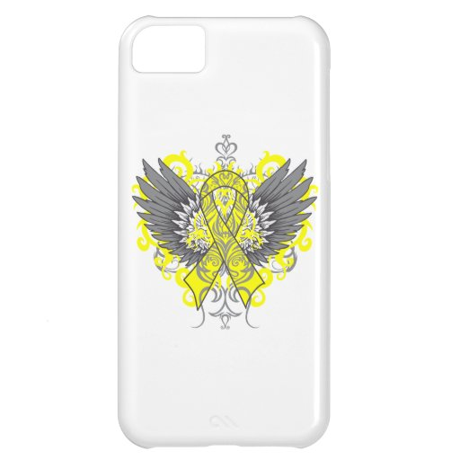 Testicular Cancer Cool Wings iPhone 5C Covers