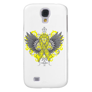 Testicular Cancer Cool Wings HTC Vivid Cases
