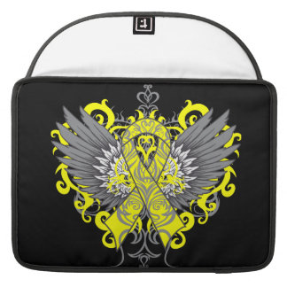 Testicular Cancer Cool Wings Sleeve For MacBook Pro