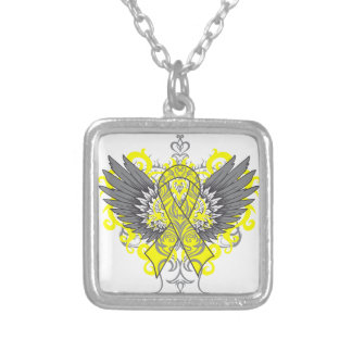 Testicular Cancer Cool Wings Pendant