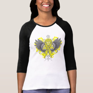 Testicular Cancer Cool Wings Shirts
