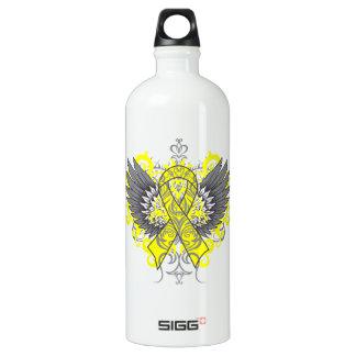 Testicular Cancer Cool Wings SIGG Traveller 1.0L Water Bottle