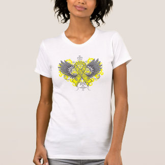 Testicular Cancer Cool Wings Tees