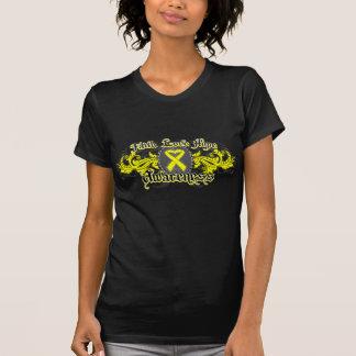 Testicular Cancer Faith Love Hope Deco Heart Shirt