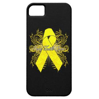 Testicular Cancer Flourish Hope Faith Cure iPhone 5 Covers
