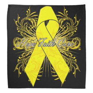Testicular Cancer Flourish Hope Faith Cure Do-rags