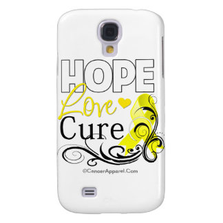 Testicular Cancer Hope Love Cure Galaxy S4 Cover