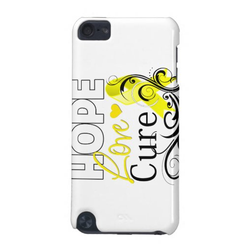 Testicular Cancer Hope Love Cure iPod Touch (5th Generation) Case