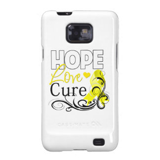 Testicular Cancer Hope Love Cure Samsung Galaxy Cover