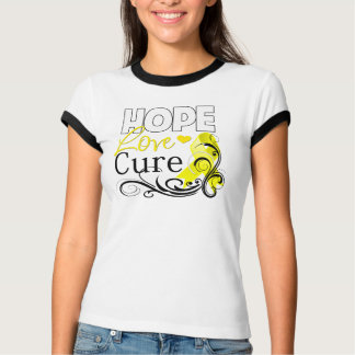 Testicular Cancer Hope Love Cure T Shirts