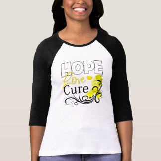 Testicular Cancer Hope Love Cure Tshirts
