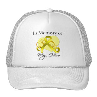 Testicular Cancer In Memory of My Hero Mesh Hats