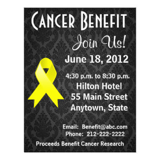 Testicular Cancer Personalised Benefit Flyer