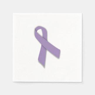 Testicular Cancer Ribbon Napkins Disposable Napkin