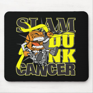 Testicular Cancer - Slam Dunk Cancer Mouse Pad