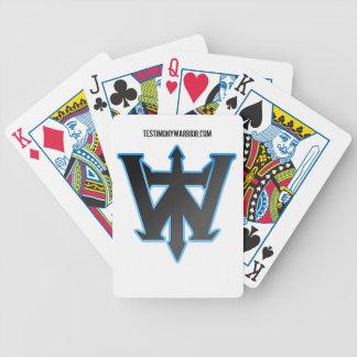 TestimonyWarrior.com Logo Card Deck