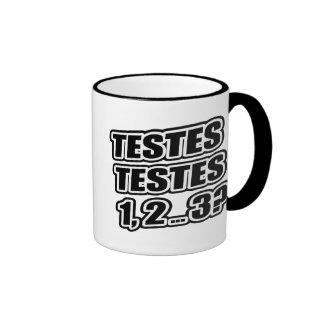 Testing Testing 1 2 3 Testes Testes 1 2 3 Coffee Mug