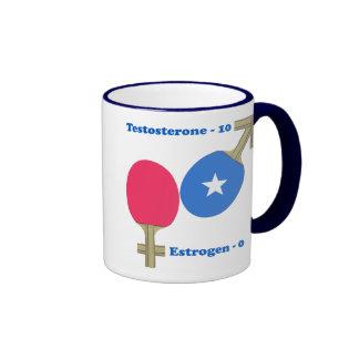 Testosterone Ping Pong Coffee Mug
