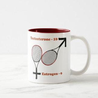 Testosterone Tennis Mug