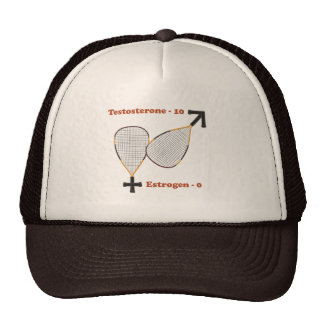 Testosterone Wins Racquetball Mesh Hat