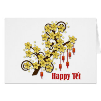 Tet Hoa Mai Greeting Card