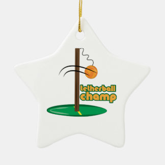 Tetherball Champ Ornament