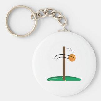 Tetherball Keychains