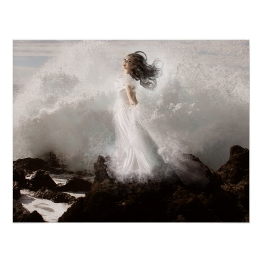 Tethys - Sea Goddess Poster