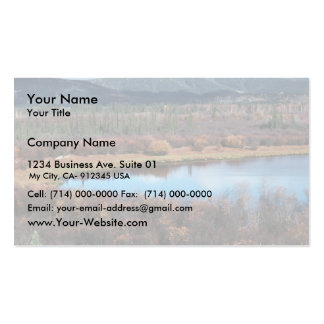 Tetlin National Wildlife Refuge Business Card Templates
