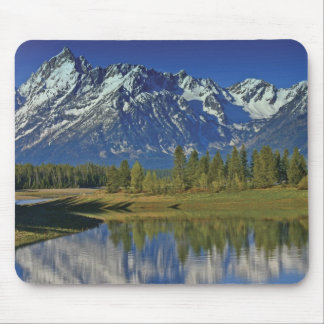 Teton Mountain Lake Template Mouse Pad