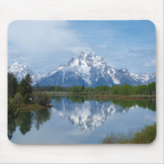 Teton Mountain Reflections Mouse Mat