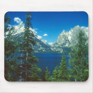 Teton Mountains and Lake Mouse Pad