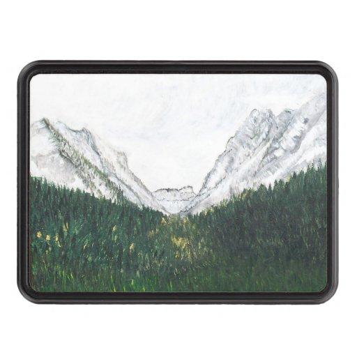 Teton Mountains Tow Hitch Covers