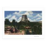 Teton National Park, WY - Devil's Tower near Post Card