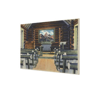 Teton National Park WY - The Alter Gallery Wrap Canvas
