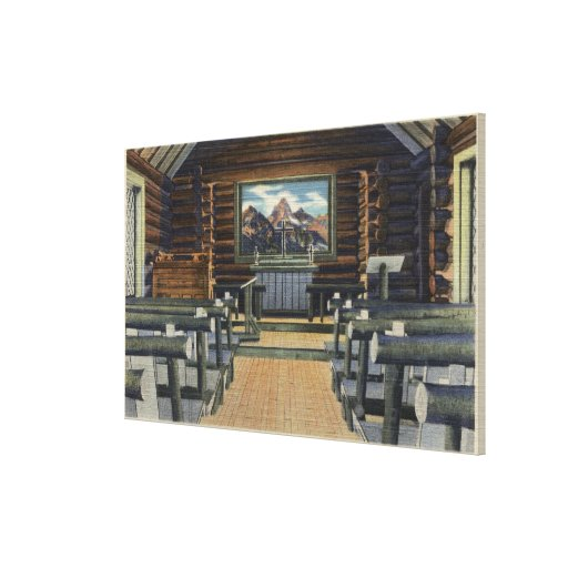 Teton National Park, WY - The Alter Gallery Wrap Canvas