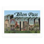 Teton Pass, Montana Postcard