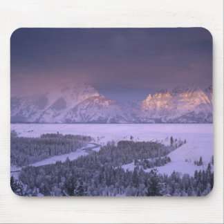 Teton Range from Snake River Overlook, Grand Mouse Pad